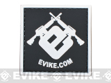 Officially Licensed Evike.com 2x2 Square PVC Hook and Loop Morale Patch