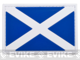 PVC Hook and Loop International Flag Patch (Flag: Scotland)