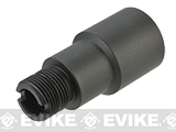 Wii Tech 14mm+ Barrel Adapter for PTS PDR AEG's