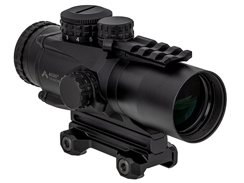 Primary Arms Gen III 3X Compact Prism Scope with the Patented ACSS .300BLK Reticle (Color: Black)