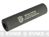 Matrix Airsoft Mock Suppressor / Barrel Extension - 30 X 110mm (Style: Special Forces 2 / OD Green)