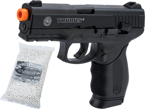 Softair Licensed Taurus 24/7 Airsoft Spring Pistol (Package: Pistol / Add 5000 BBs)