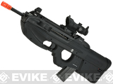 G&G FN Herstal Licensed FN2000 Airsoft AEG Rifle (Package: Black / Tactical Long Barrel / Gun Only)