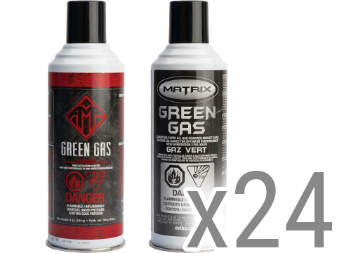 Airsoft G-1000 Power Green Gas (QTY: 24 cans)