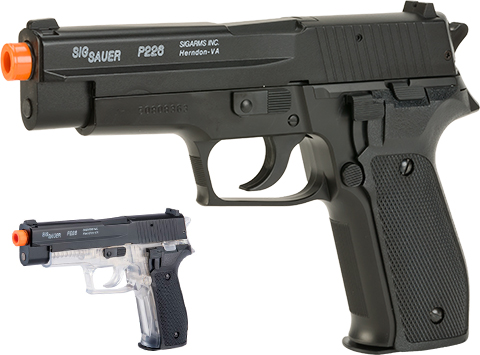 SIG Sauer Licensed P226 Collector's Edition Spring Powered Airsoft Pistol