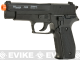 SIG Sauer Licensed Full Metal P226 Collector's Edition Spring Powered Airsoft Pistol (Color: Black)