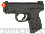 (AIRSOFTCON EPIC DEAL) Smith and Wesson M&P9C Full Size Spring Powered Airsoft Pistol