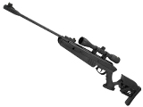 Palco Swiss Arms TG-1 Break Barrel .177 Air Rifle with 4x32 Scope and Adjustable Stock (Color: Black) (.177 Cal AIRGUN NOT AIRSOFT)