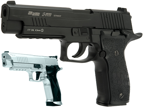 SIG Sauer X-Five CO2 Powered Blowback 4.5mm Airgun Pistol AIRGUN NOT AIRSOFT