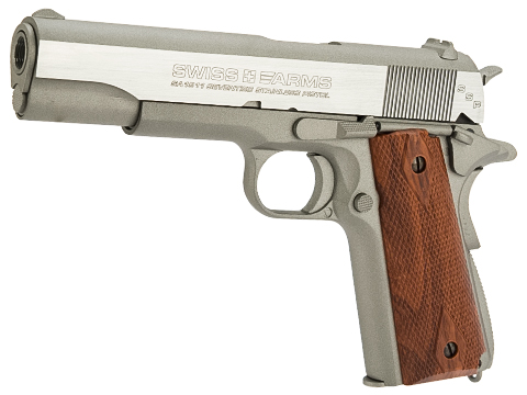 Swiss Arms SA 1911 CO2 Powered Blowback 4.5mm Air Pistol (AIRGUN NOT AN AIRSOFT GUN)