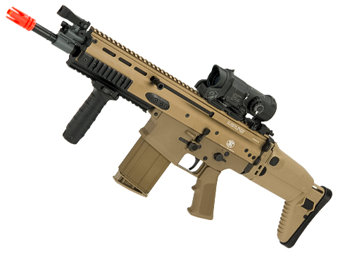 FN Herstal SCAR-H CQB Licensed MK17 Gas Blowback Airsoft Rifle by VFC (Color: Flat Dark Earth)
