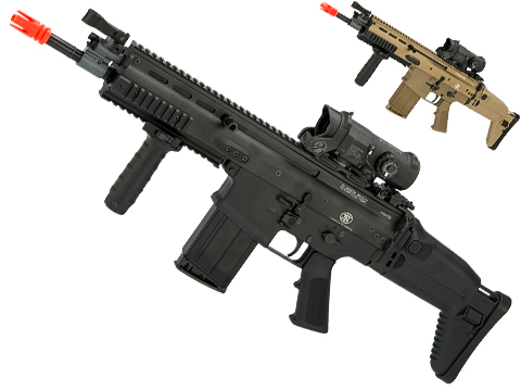 FN Herstal SCAR-H Licensed MK17 Gas Blowback Airsoft Rifle by VFC (Color: Black)