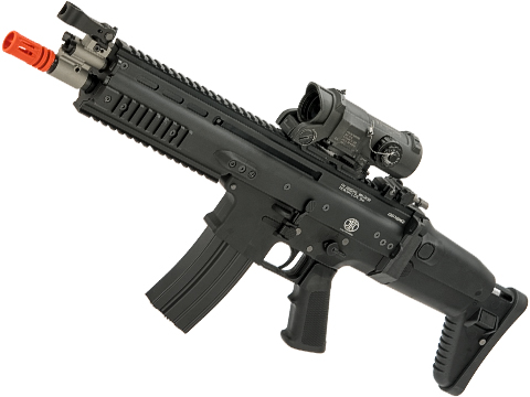 FN Herstal Licensed Full Metal SCAR-L Airsoft AEG Rifle by WE-Tech (Color: Black / CQB)