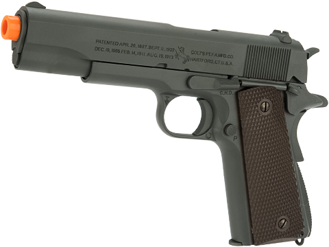 Officially Licensed Colt 1911A1 Pistol with Parkerized Finish by Cybergun
