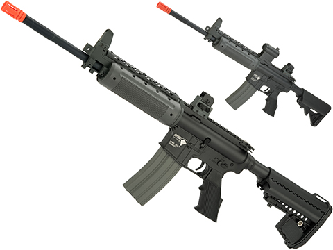 DPMS Panther Arms Licensed PAR300-L Full Metal Airsoft AEG Rifle by Cybergun