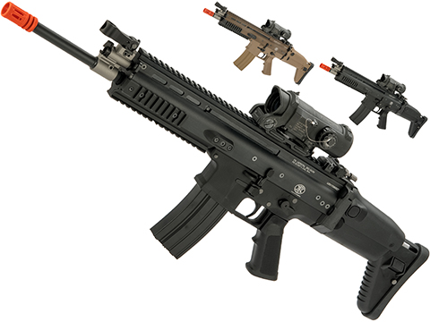 FN Herstal Licensed Full Metal SCAR-L Airsoft AEG Rifle by WE-Tech