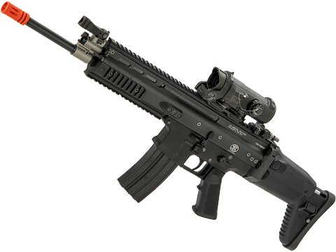 FN Herstal Licensed Full Metal SCAR-L Airsoft AEG Rifle by WE-Tech (Package: Black / Carbine)