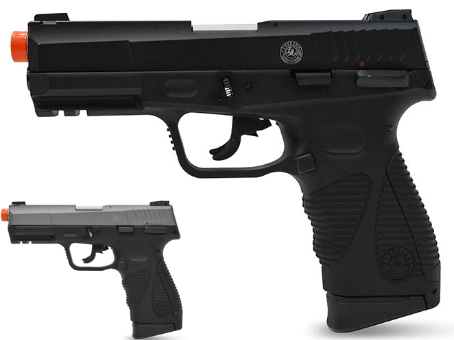 Taurus 24/7 G2 CO2 Gas Blowback Airsoft Pistol by Softair (Model: 428 FPS / Black)