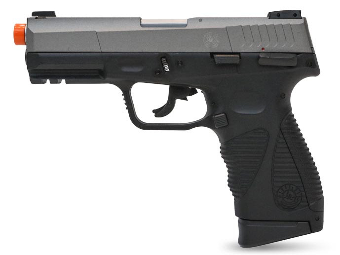 Taurus 24/7 G2 CO2 Gas Blowback Airsoft Pistol by Softair (Color: Two-Tone)