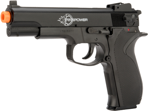Firepower .45 Spring Powered Airsoft Pistol with Metal Slide by Softair (Package: Pistol)