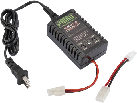Airsoft Compact Smart Charger for NiMh NiCd AEG Batteries by SoftAir USA