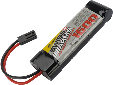 Swiss Arms 8.4v 1600mah NiMH Battery with Small Tamiya Connector