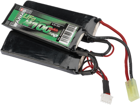 Swiss Arms LiFe 9.9V 2100mAh 20C Tri-cell Airsoft Lithium Battery