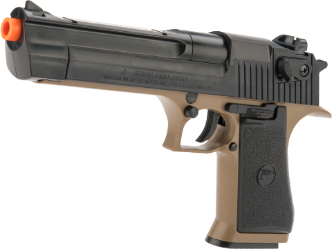 Desert Eagle Licensed .50 Action Express Airsoft Pistol (Color: Black / Dark Earth)