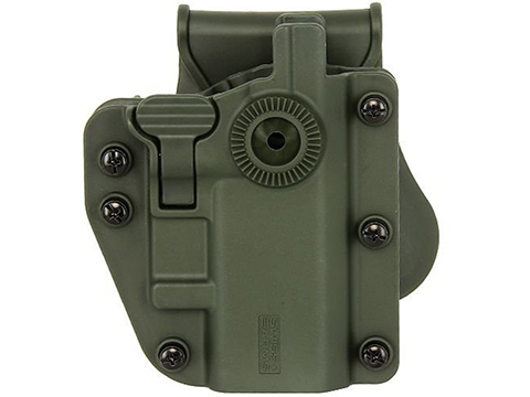 Swiss Arms ADAPT-X Level 3 Universal Holster by Cybergun (Color: Ranger Green)