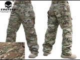 Emerson High Speed Combat Pants - Camo (Size: 36W)