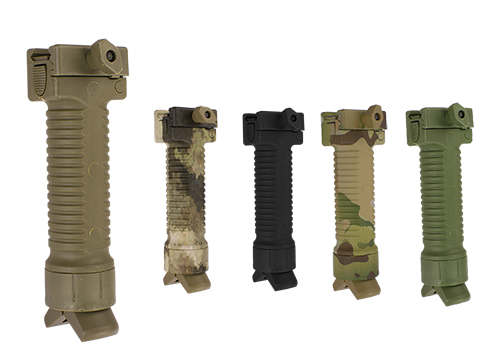 Scar Type Vertical Support Tactical Bi-pod Grip