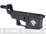 Spare Evike.com ABS Polymer Lower Receiver for G&G CM16 M4 AEG - (Black)