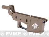 Spare ABS Polymer Lower Receiver for G&G GR16 Blowback AEG - (Tan)