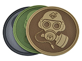 Hazard 4 Special Forces Gas Mask Rubber Hook and Loop Patch