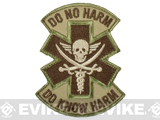 Mil-Spec Monkey Do No Harm - Pirate Hook and Loop Patch - Multicam