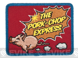 Mil-Spec Monkey Pork Chop Express Hook and Loop Patch (Color: Full Color)