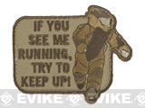 Mil-Spec Monkey EOD Running Morale Patch - Desert