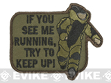Mil-Spec Monkey EOD Running Morale Patch - Forest