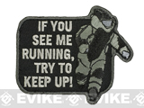 Mil-Spec Monkey EOD Running Morale Patch - SWAT