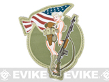 Mil-Spec Monkey BAR Girl Morale Patch (Color: Full Color)