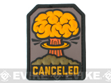 Mil-Spec Monkey Canceled PVC Morale Patch (Color: Full Color)