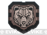 Mil-Spec Monkey Industrial Bear PVC Patch - Urban