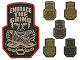 Mil-Spec Monkey Embrace the Grind PVC Morale Patch
