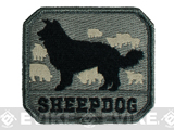 Mil-Spec Monkey Sheepdog Hook and Loop Patch - ACU