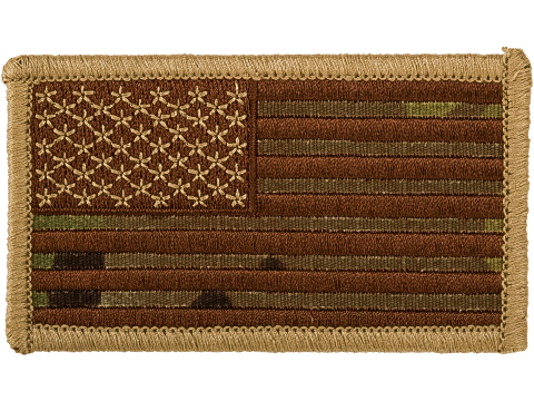 Matrix Hook and Loop U.S. IFF Flag Patch (Color: Multicam / Regular)