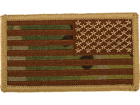 Matrix Hook and Loop U.S. IFF Flag Patch (Color: Multicam / Reverse)