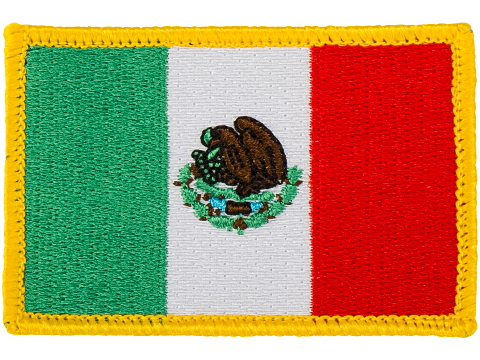 Matrix Country Flag Series Embroidered Morale Patch (Country: Mexico)