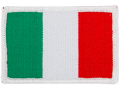 Matrix Country Flag Series Embroidered Morale Patch (Country: Italy)