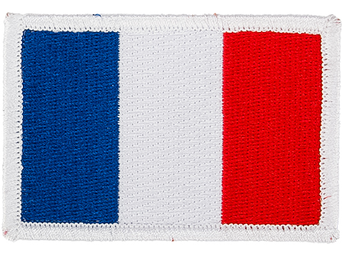 Matrix Country Flag Series Embroidered Morale Patch (Country: France)