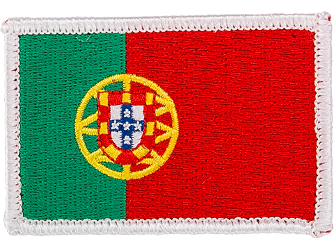 Matrix Country Flag Series Embroidered Morale Patch (Country: Portugal)